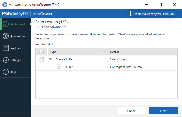 AdwCleaner - Free Adware Cleaner & Removal Tool | Malwarebytes