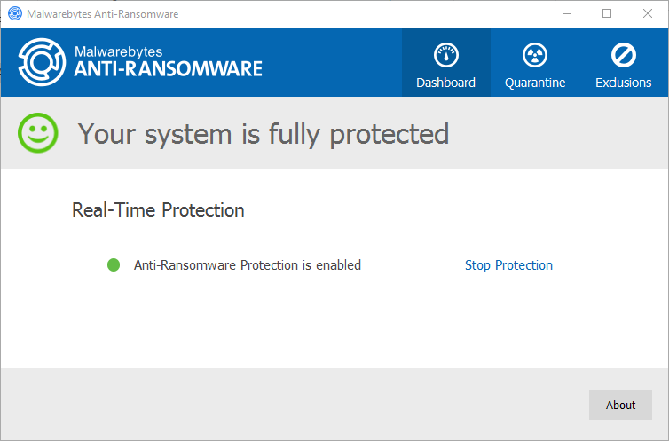 Anti-ransomware technology on endpoint (Windows)
