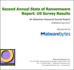 Osterman Research: Second Annual State of Ransomware Report - US Survey Results