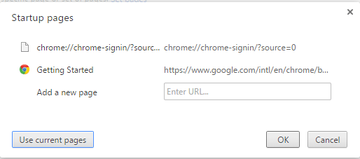 Restore Browser: Chrome