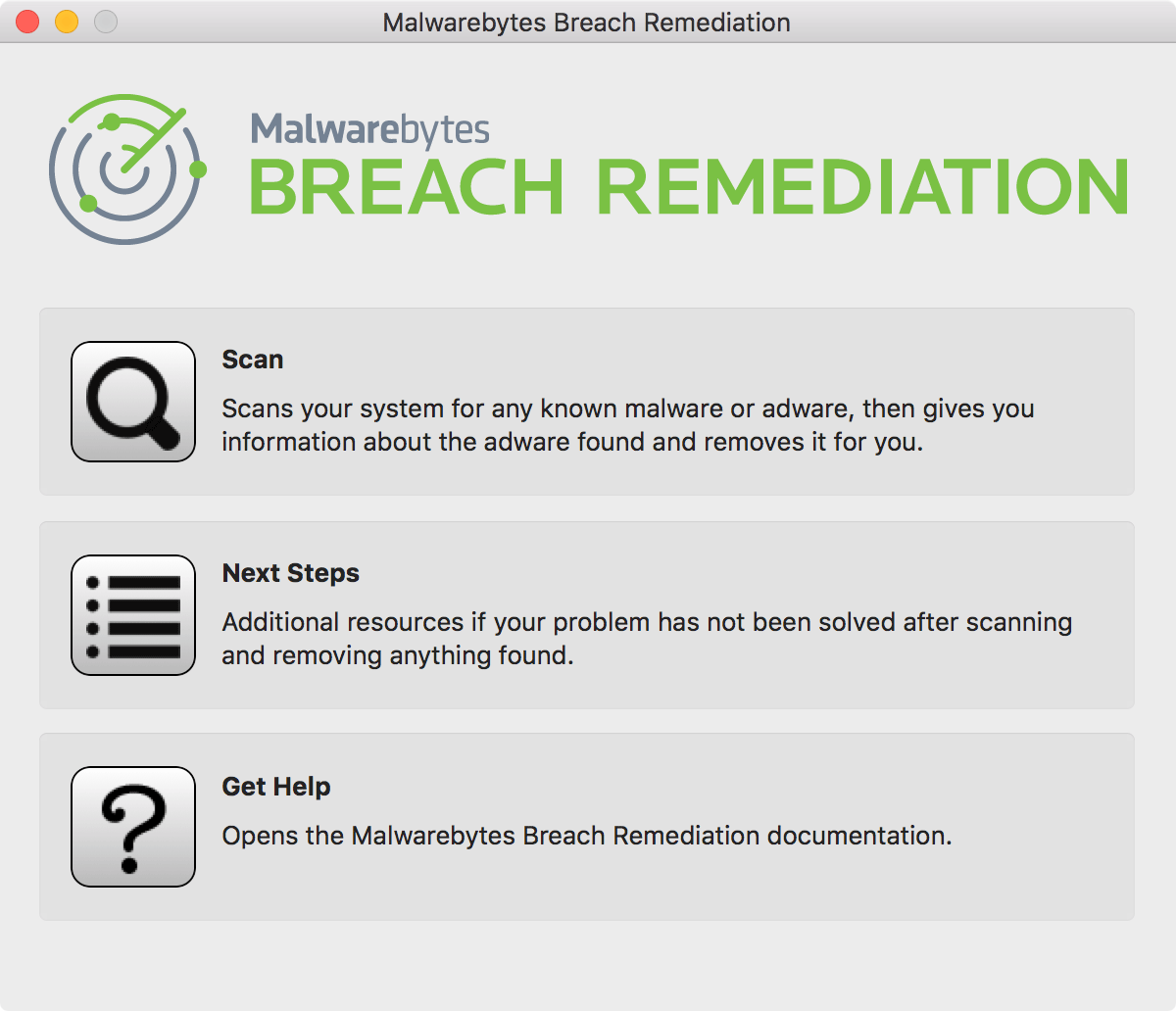 Breach Remediation - Mac