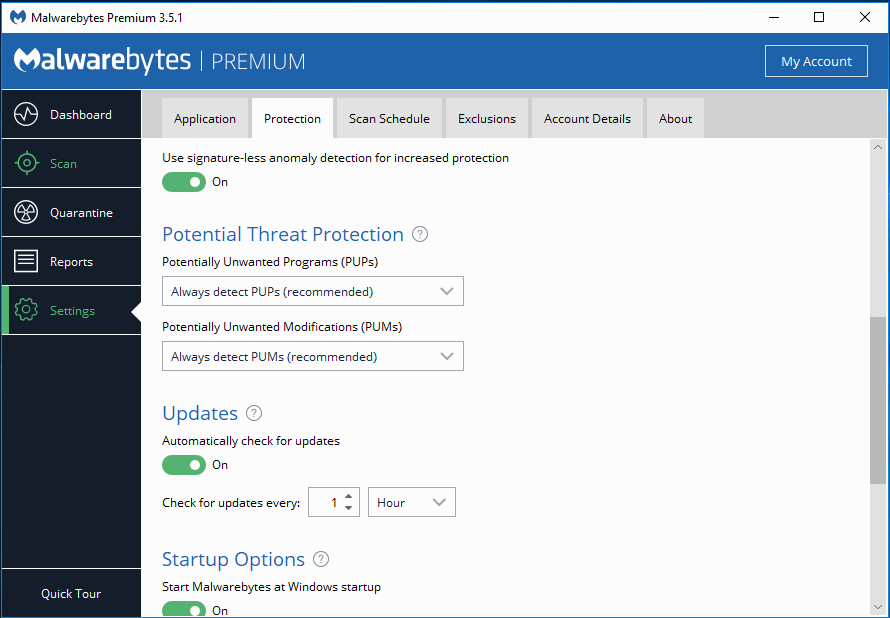 malwarebytes minimum system requirements
