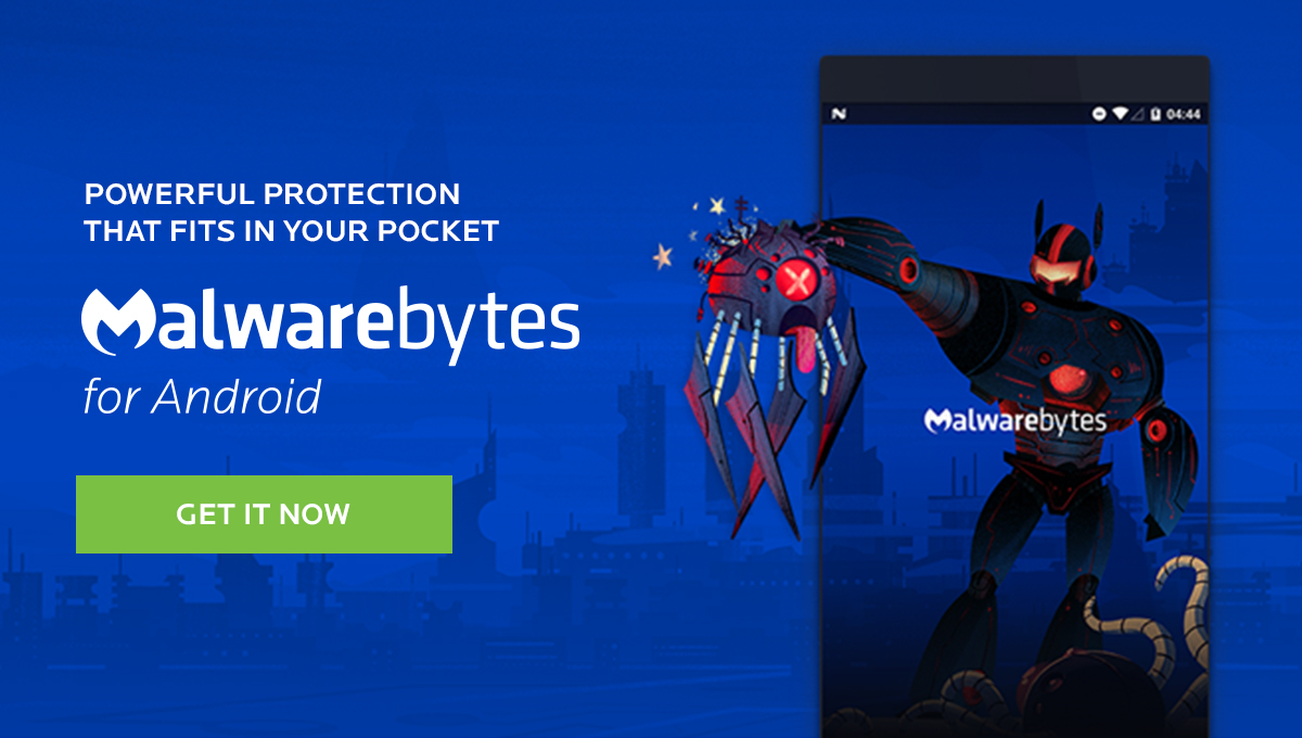 Mobile Security - Malwarebytes for Android