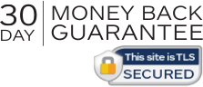 30 Day Money Back Guarnatee (This site is TLS Secured)
