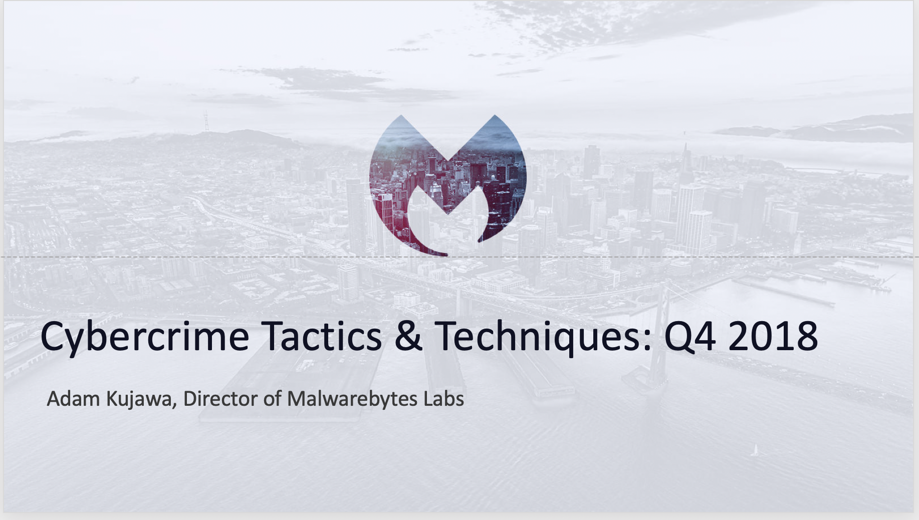 Cybercrime Tactics and Techniques: Q4 2018