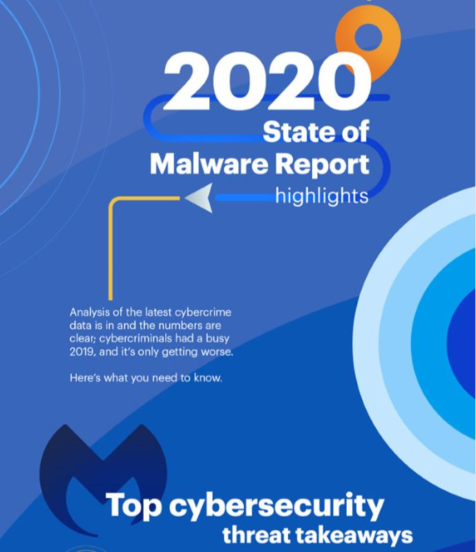 2020 State of Malware Infographic