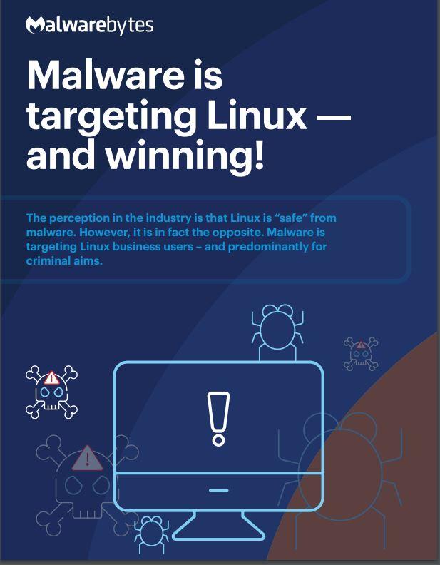 Malwarebytes Linux Malware Infographic